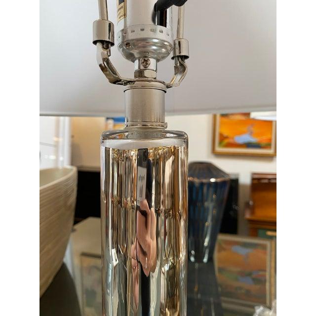 Metal New Cyan Design Moonraker Nickel Table Lamp - a Pair For Sale - Image 7 of 9