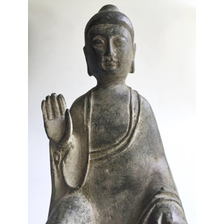 Antique Bronze No Fear Buddha Preview