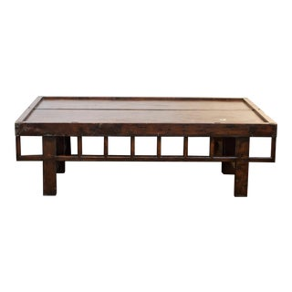 Massive Asian Coffee Table For Sale