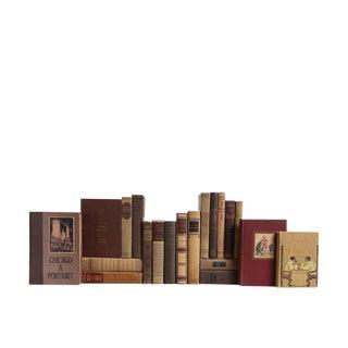 Cafe Du Monde Midcentury Books - Set of 20