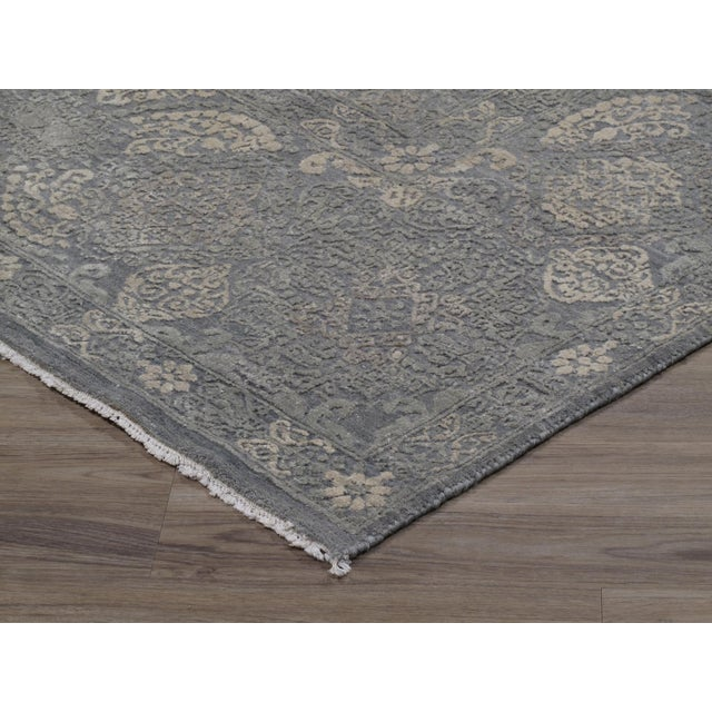 Traditional Stark Studio Rugs Traditional New Oriental Indian Wool Rug - 8′10″ × 11′10″ For Sale - Image 3 of 5