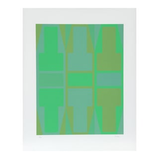 T Series (Green) Serigraph by Arthur Boden