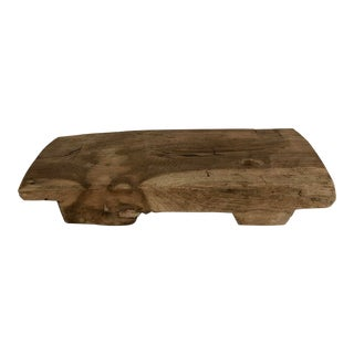 Rustic Wood Riser For Sale