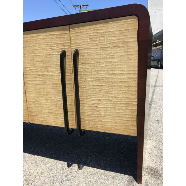 Vintage Mid-Century Modern Italian Credenza - Image 6 of 9
