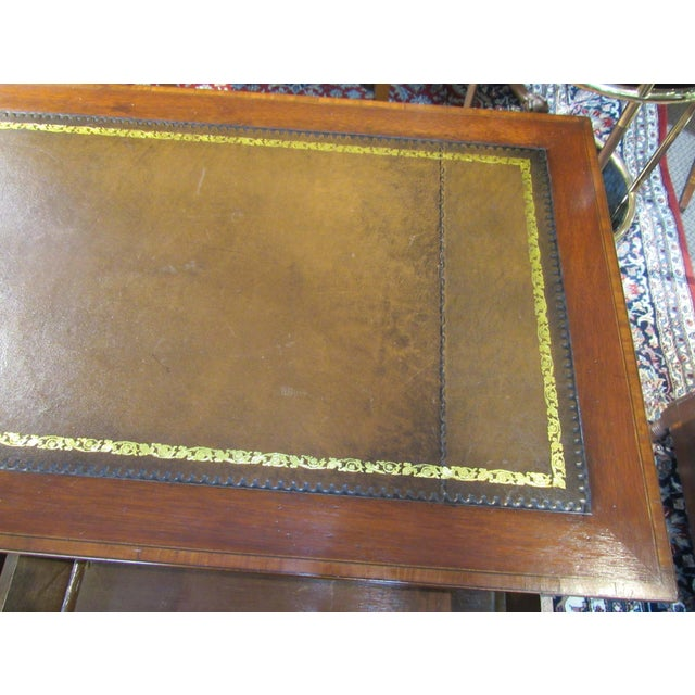 Late 19th Century 19th Century English Writing Desk For Sale - Image 5 of 6