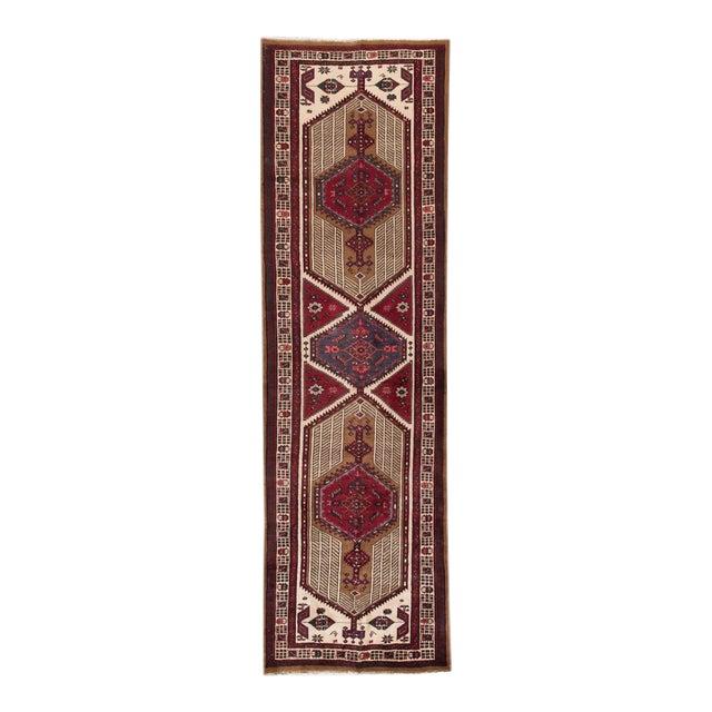"Apadana - Vintage Persian Rug, 3'6"" x 11'9"" For Sale"