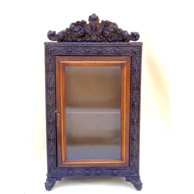 Brown Alphonse Giroux French Curio Cabinet For Sale - Image 8 of 8