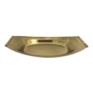 Art Deco Solid Brass Catchall