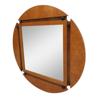 Hickory White Genesis Neo Classical Hanging Wall Mirror Biedermeier For Sale