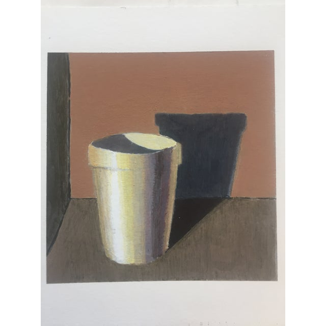 Small Original Studio Still Life Painting on Paper For Sale - Image 4 of 4