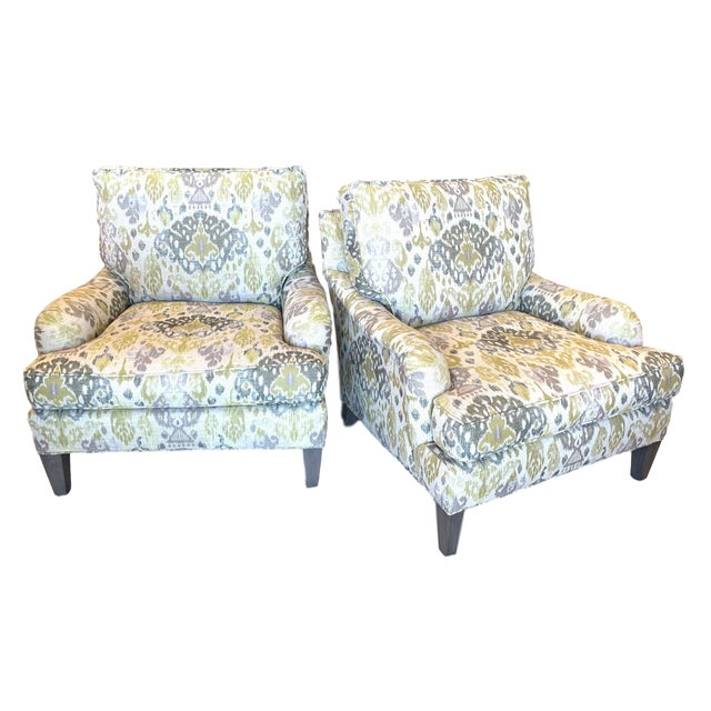 Lee Industries Lounge Chairs- a Pair For Sale - Image 13 of 13