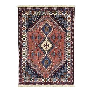 1990s Persian Yalameh Rug For Sale