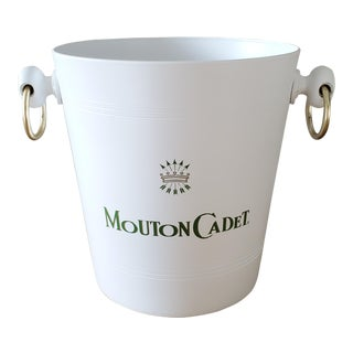 Mouton Cadet French Champagne Ice Bucket For Sale