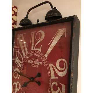 Rustic Oversized Wall Clock Preview