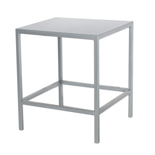 Silver Cube Table For Sale