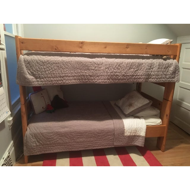 Solid Pine Bunkbed - Image 4 of 5