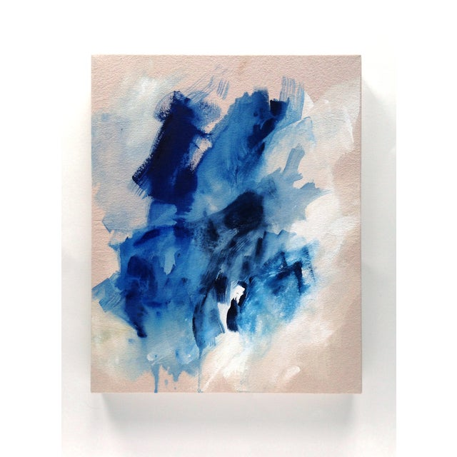 """Dani Schafer """"Searching I"""" 2016 Abstract Painting - Image 2 of 2"""