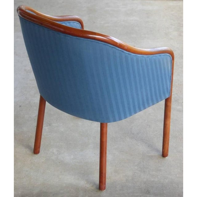 Walnut Banker Chairs by Ward Bennett for Brickel - Image 8 of 10