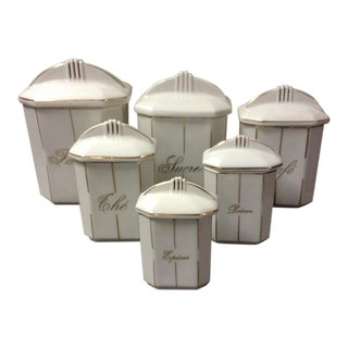 LaMalle French Canister Set - Set of 6