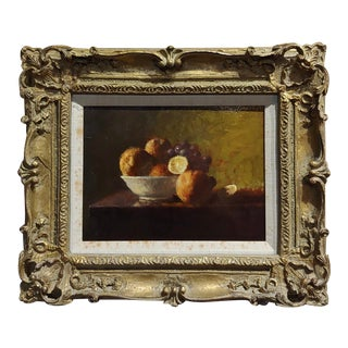 Allen McCurdy -Still Life Fruit Bowl - Oil Painting