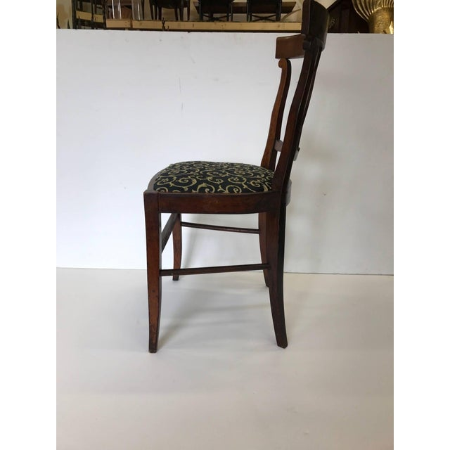 Wondrous Antique Hand Carved Walnut Side Accent Chairs A Pair Frankydiablos Diy Chair Ideas Frankydiabloscom