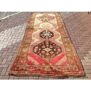 Vintage Anatolian Rug - 5′3″ × 13′4″ Preview