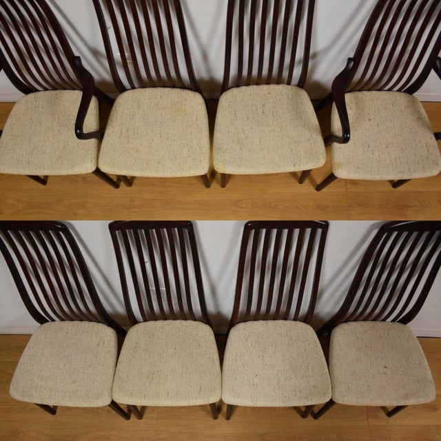 Danish Modern Dining Chairs - Set of 8 - Image 3 of 9