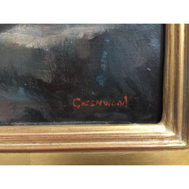 Vintage California Seascape by Greenwood - Image 6 of 7