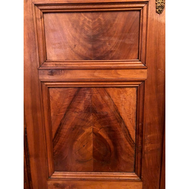 19th Century Walnut Armoire For Sale - Image 10 of 13