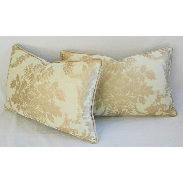 Italian Mariano Fortuny Boucher Pillows - A Pair - Image 11 of 11