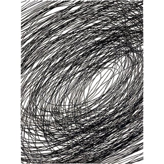 Abstract Spin Area Rug by Carini, 9'x12' For Sale