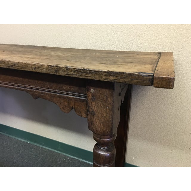 Vintage Console or Sofa Table - Image 4 of 11