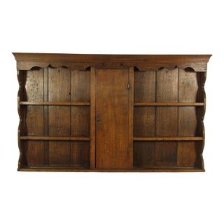 18th-C. Welsh Wall Shelf For Sale