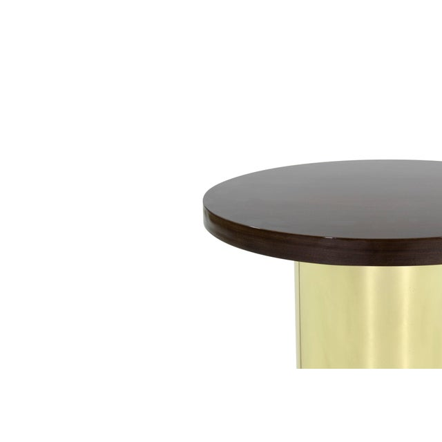 Mid 20th Century Brass Pedestal by Curtis Jere For Sale - Image 5 of 8