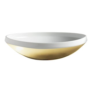 """""""Bolina"""" Bowl Gold by Gottfried Palatin For Sale"""