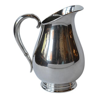 Royal Danish Sterling Silver Water Pitcher