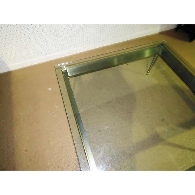 Mid 20th Century Vintage John Vesey Style Coffee Table For Sale - Image 10 of 11