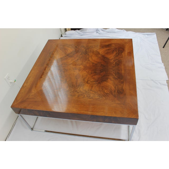 Mid Century Modern Milo Baughman coffee table - Image 5 of 7