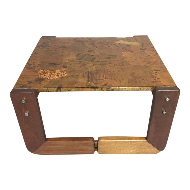 Percival Lafer Rosewood Side Table - Image 1 of 8