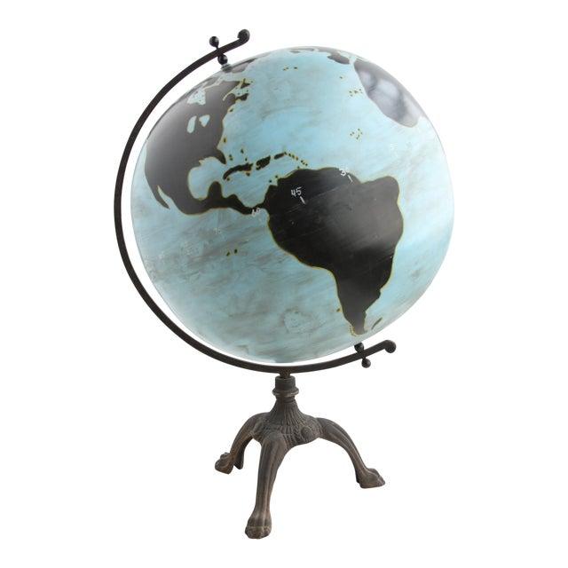 Aviation Globe on Iron Base - Image 1 of 3