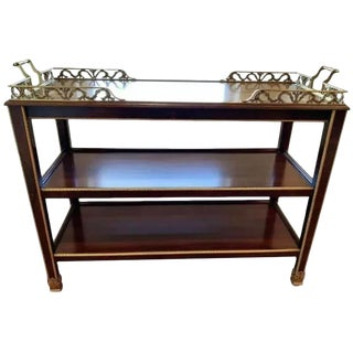 Henredon Natchez Bar Cart For Sale