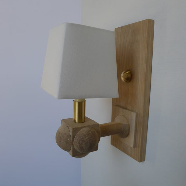 Foursquare Sconce by Paul Marra For Sale In Los Angeles - Image 6 of 11