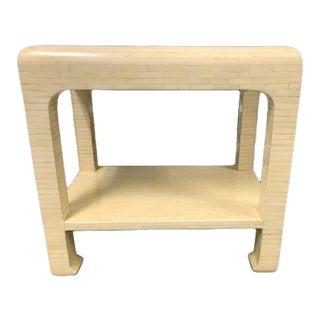 Enriques Garces Jimeco Ming Leg Side Table For Sale
