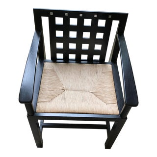 Mid-Century Charles Renne Mackintosh Arm Chair For Sale