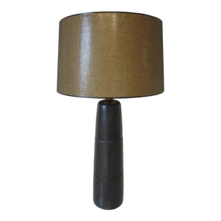 Mid-Century Martz Tall Table Lamp with Shade For Sale