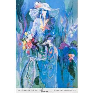 "JEAN DUBUFFET Theatre De Memoire 22/"" x 32/"" Poster 1977 Multicolor"