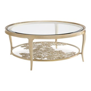 Modern Caracole Handpicked Cocktail Table For Sale