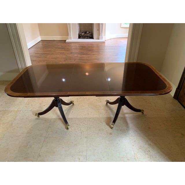 Councill Furniture Federal Design Council Dining Table For Sale - Image 4 of 4