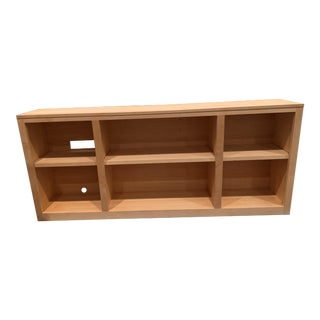 Room & Board Maple Woodwind Bookcase For Sale