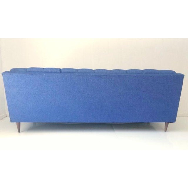 Mid-Century Blue Sofa by Stratford - Image 3 of 6